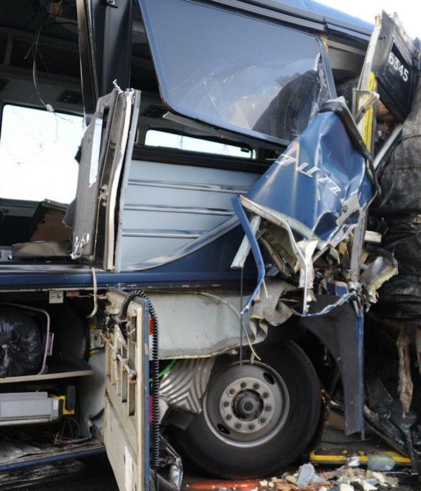 Driver Falls Asleep at the Wheel