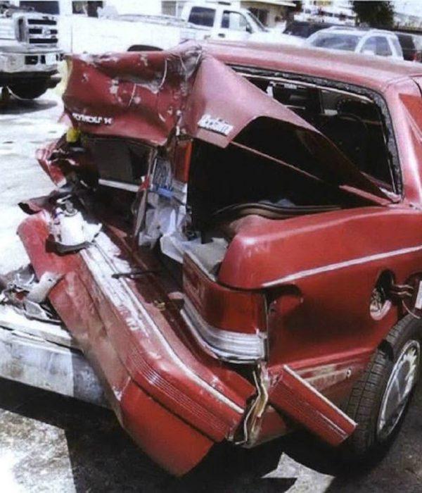 A Pedestrian Struck by Auto